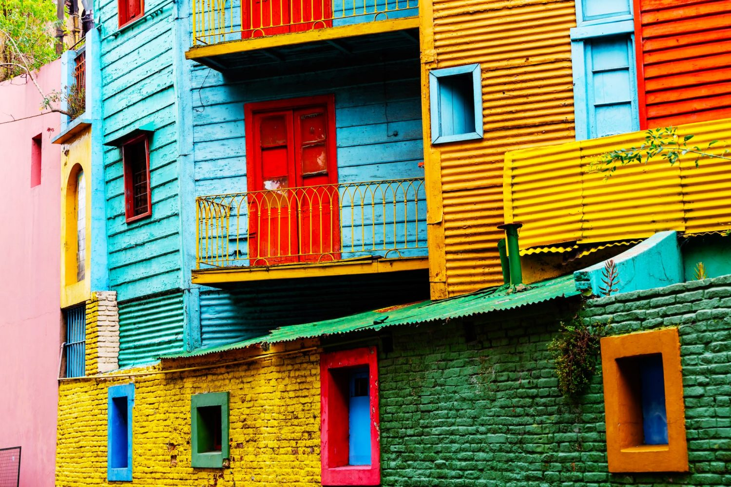 Buenos Aires La Boca New World travel Argentina
