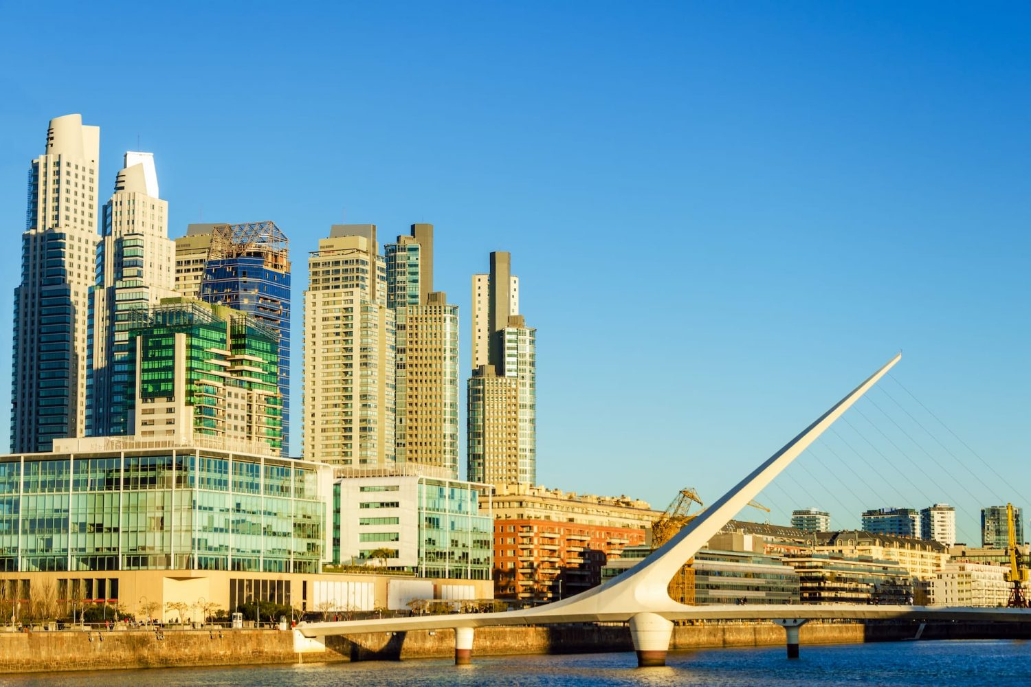 Puerto Madero travel Argentina New World