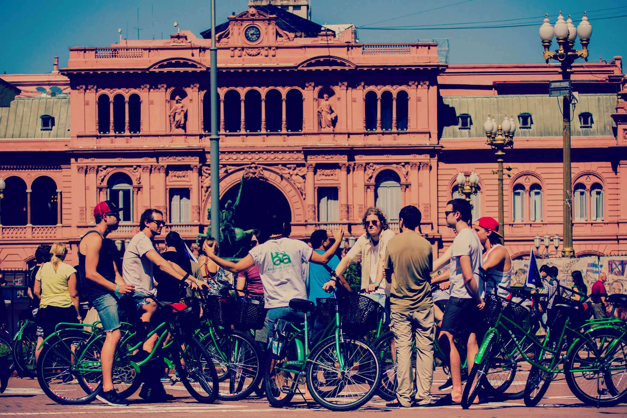 Guided Bike tour Buenos Aires