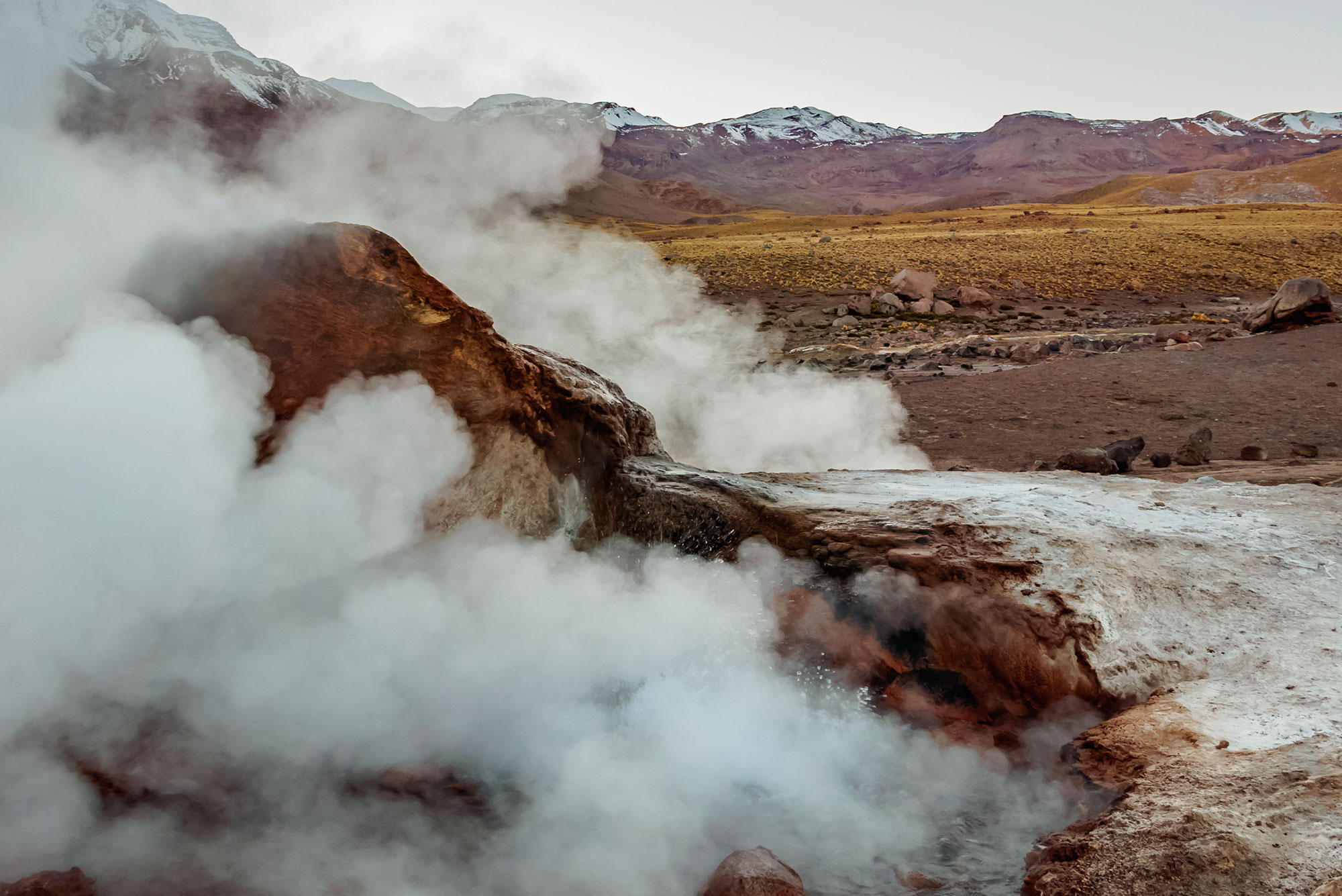 Rondreis travel Tour Chili Chile El Tatio